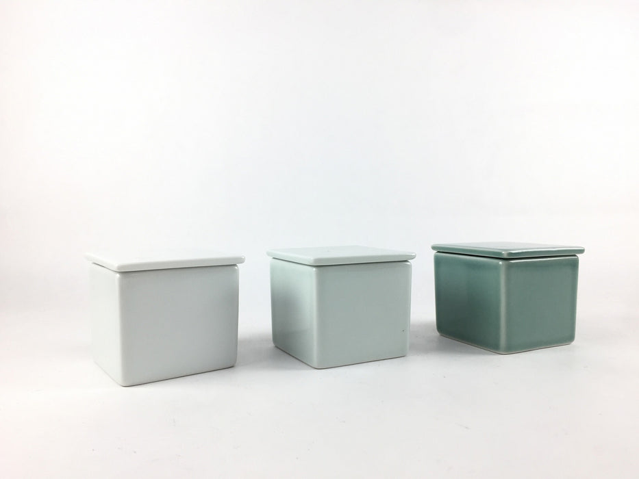 50squareminibox.whitemat 波佐見焼永泉窯 Esn04634