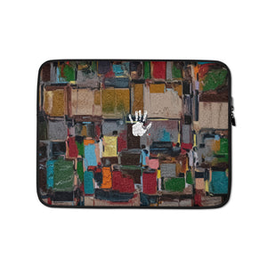 Brown Pattern Laptop Sleeve