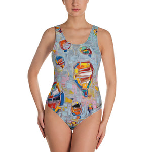 FLOATING HIGH One-Piece Swimsuit