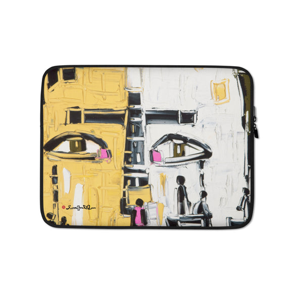 FACE COVER Laptop Sleeve