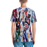 Red Stripe Men's T-shirt