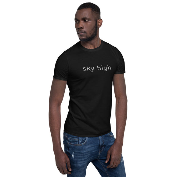 Sky high Short-Sleeve Unisex T-Shirt