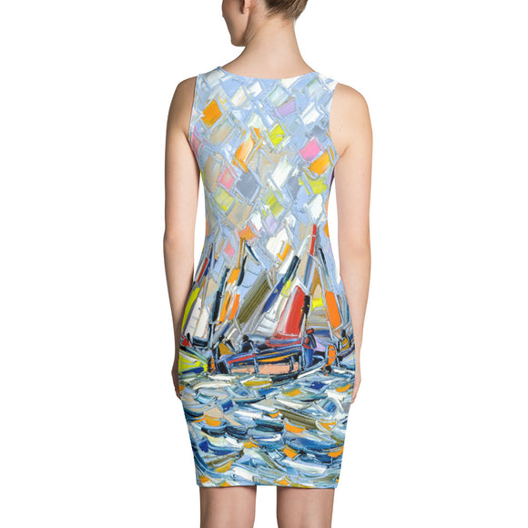 OCEAN SPORT SEXY Sublimation Cut & Sew Dress