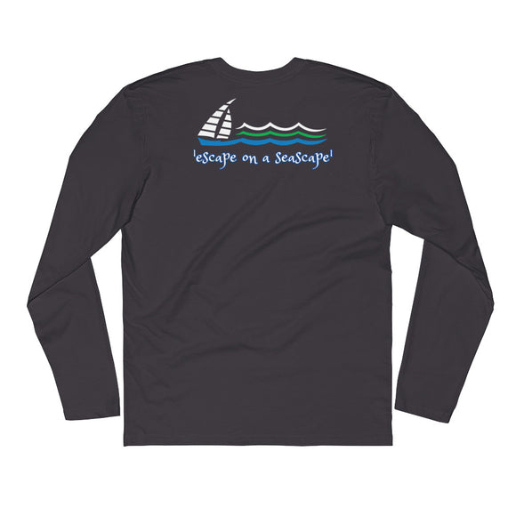 SEASCAPE Long Sleeve Fitted Crew