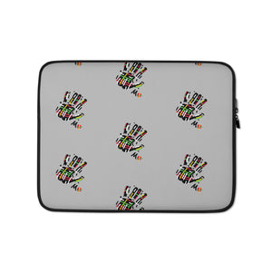 Colored Hand Laptop Sleeve