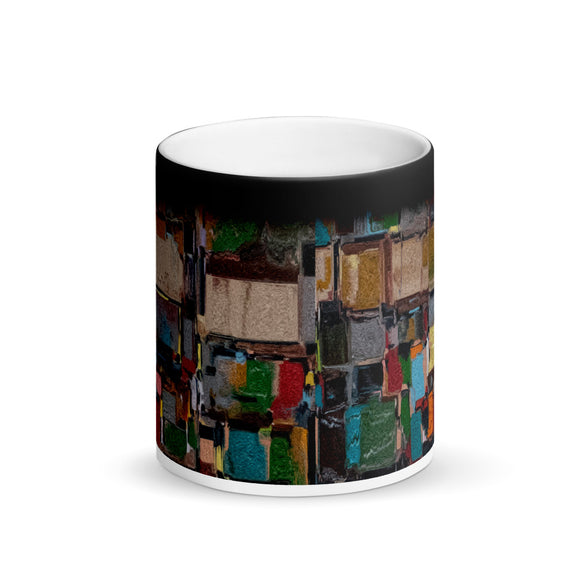 Mosaic Matte Black Magic Mug