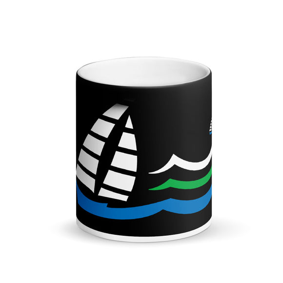 SEASCAPE Matte Black Magic Mug