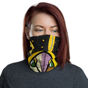 Watchful Face Neck Gaiter