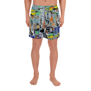 Seascape Men's Athletic Long Shorts