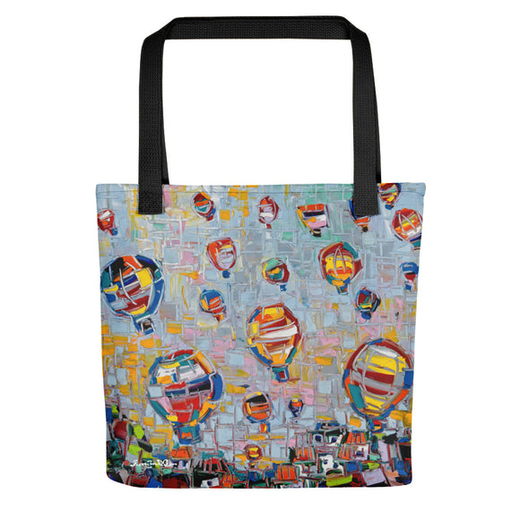 FLOATING HIGH Tote bag