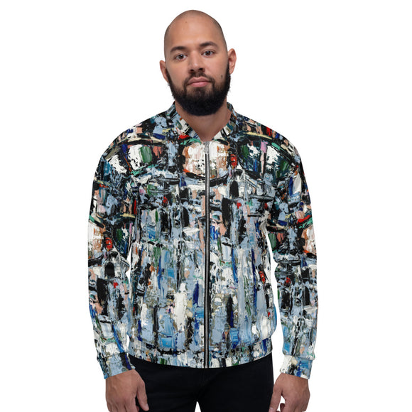 ILLUSION Unisex Bomber Jacket