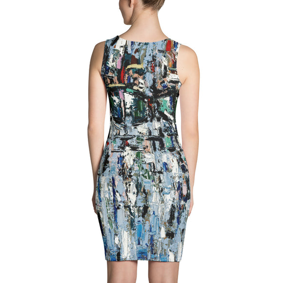 BLUE JEWELS Sublimation Cut & Sew Dress