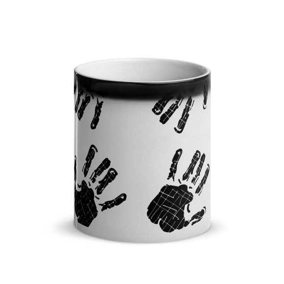 BLACK JAB Glossy Magic Mug