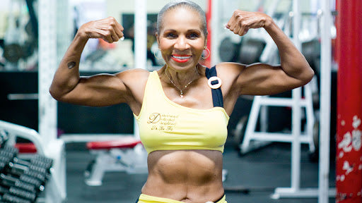 Editors note: Grandma's Packing Abs! 84-Year Old Ernestine Shepherd Is the World's Oldest Female Bodybuilder