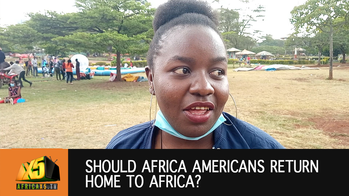 Vox Pop 🇰🇪 Should African Americans return home to Africa?