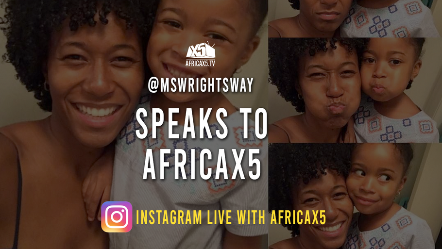 Social Media Influencer Ashley Wright on Africax5