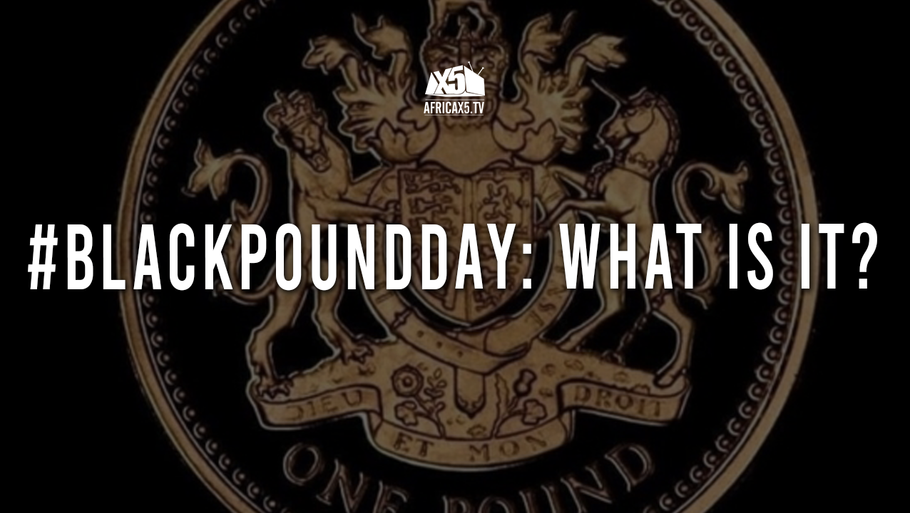 #BLACKPOUNDDAY: WHAT IS IT?