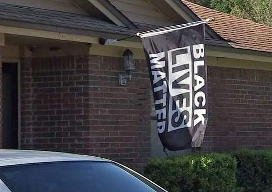 Feature News: Florida Man Sues Home Owners Association After He's Told To Remove His Black Lives Matter Flag