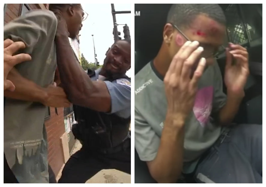 Feature News: Black Man Violently Arrested By Chicago Police For Having 'A Shocked Look On His Face' Files Lawsuit
