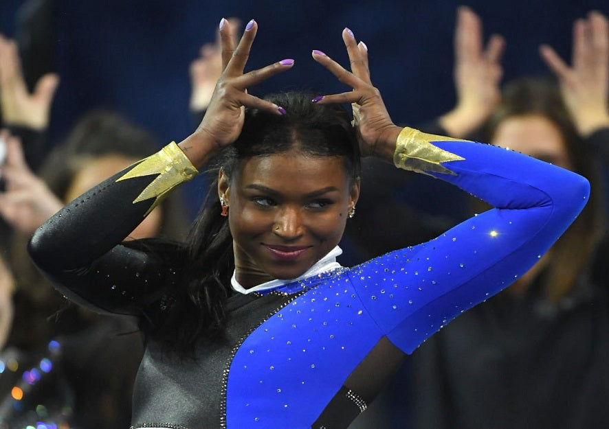 Black Development: Gymnast Nia Dennis Wins Hearts Again After Viral 'Black Excellence' Performance