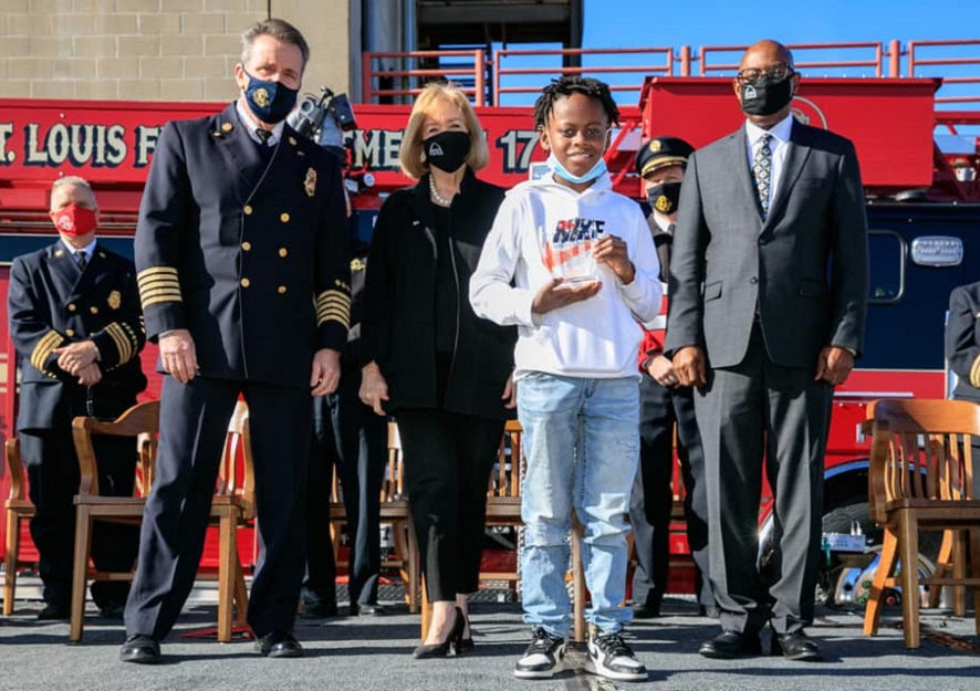 Feature News: 11-Year-Old St. Louis Boy Receives Heroism Award For Saving Brother From Drowning