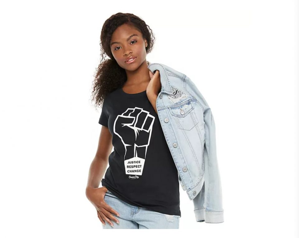 Black in Business: KOHL'S PARTNERS WITH BLACK-OWNED T-SHIRT COMPANY TO SUPPORT RACIAL EQUALITY