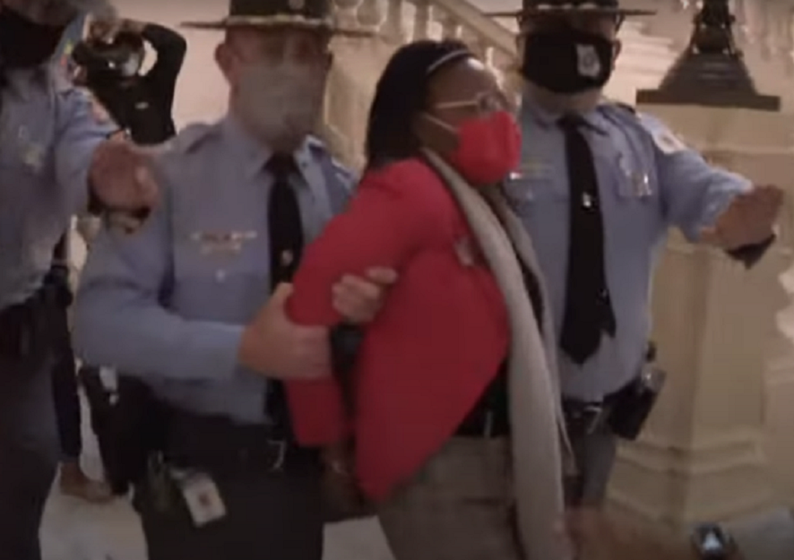Feature News: Georgia Legislator Was Arrested As Governor Signed Election Laws 'Targeting Black People'