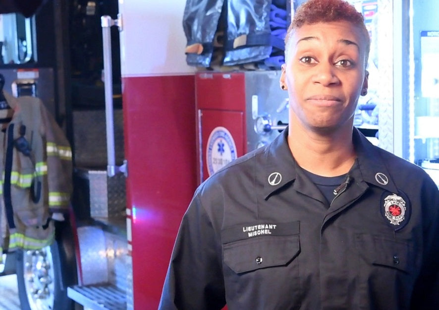 Feature News: Army Veteran Seenah Mischel Excels As A Firefighter In Pennsylvania