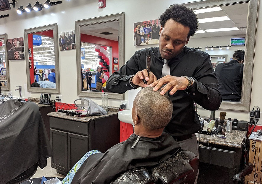 Feature News: Ex-Felon Turned Entrepreneur Now First African American To Own Three Barbershops Inside Walmart Stores