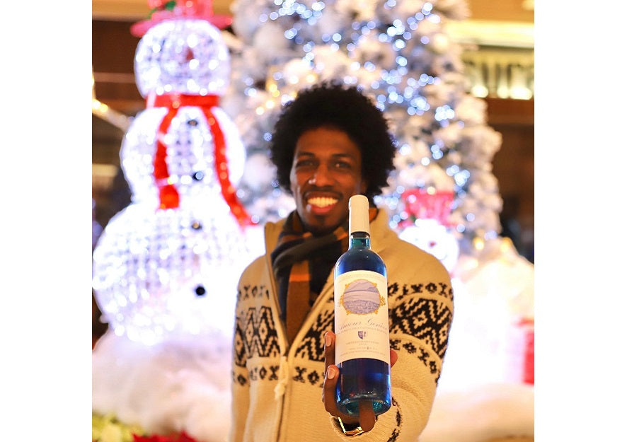 Feature News: His Late Dad Inspired Him To Produce The World's First Naturally Blue Wine