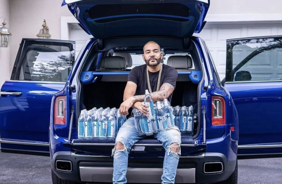 Editors note: DJ Envy's Wife Gifts Him With An Investment In Black-Owned Water Brand