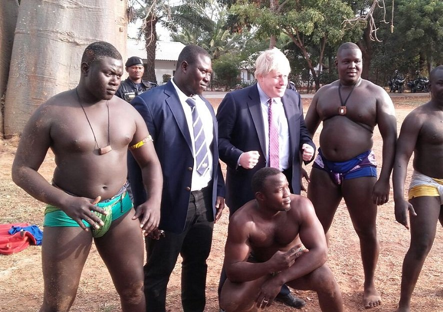Feature News: Boris Johnson Said Colonialism In Africa Should Never Have Ended