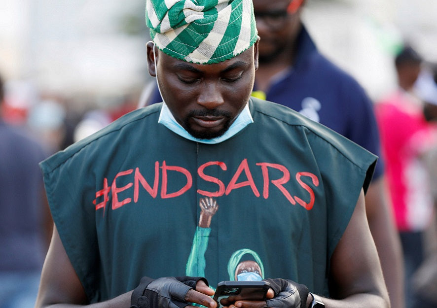 Feature News: The Nigerian #ENDSARS Movement Proves The Need For An Unregulated Social Media