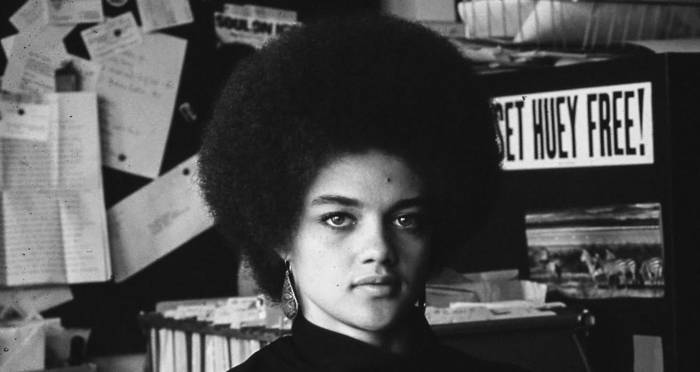 Editors note: Kathleen Cleaver and Natural Hair, Black IS BeautiFul. Black Panther Party, 1968
