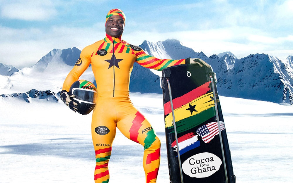 🇬🇭 Ghanian First Skeleton Athlete - Akwasi Frimpong