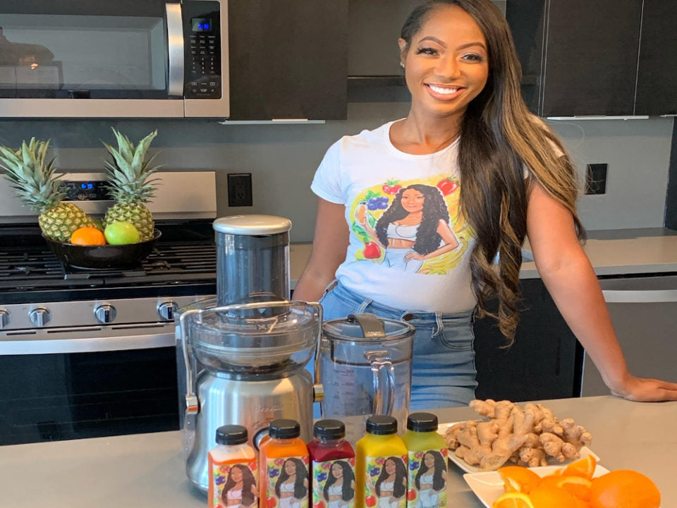 Black in Business: Entrepreneur Brittany Pickens Launches The Juice Girl