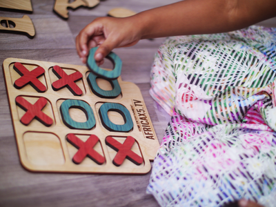 Board Game for Kids and Family - Noughts and Crosses Game