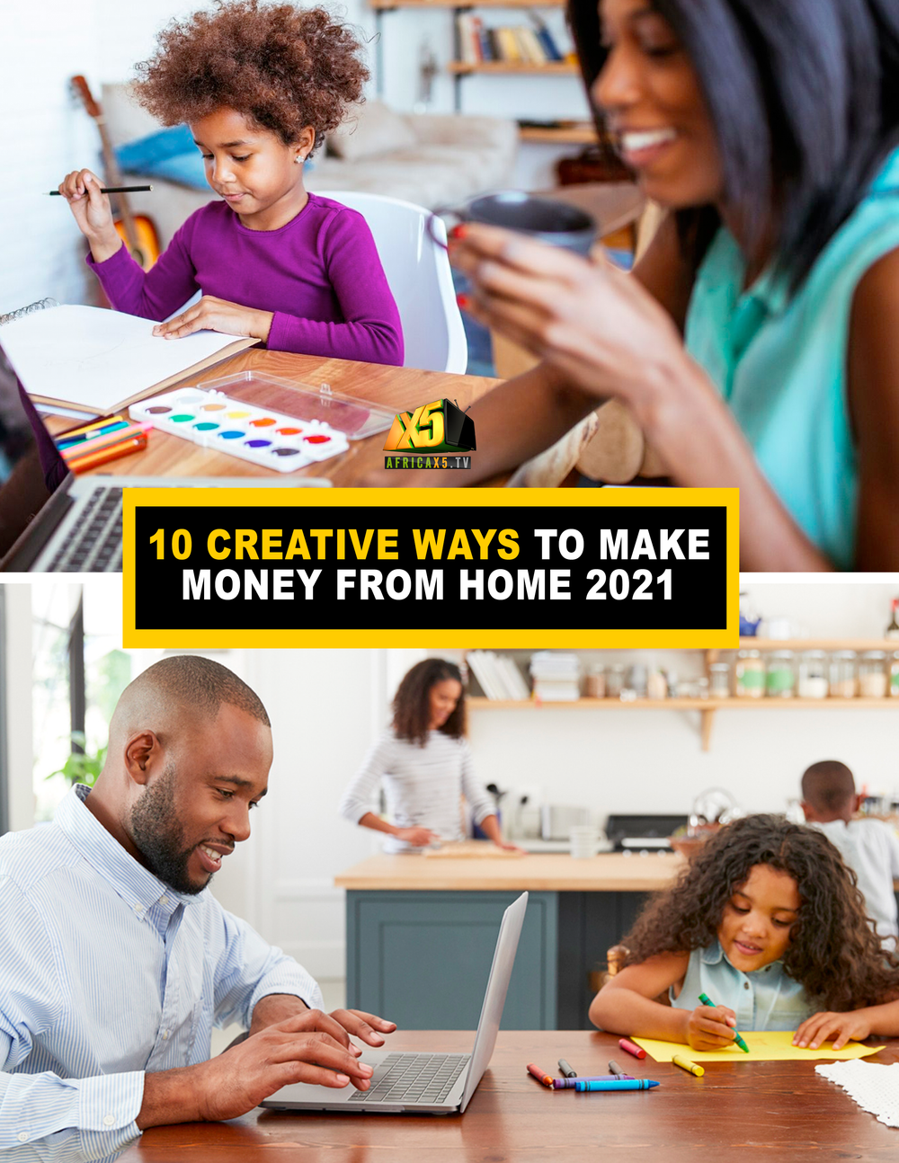 10 Creative Ways to Make Money from Home 2021 (Ebook)