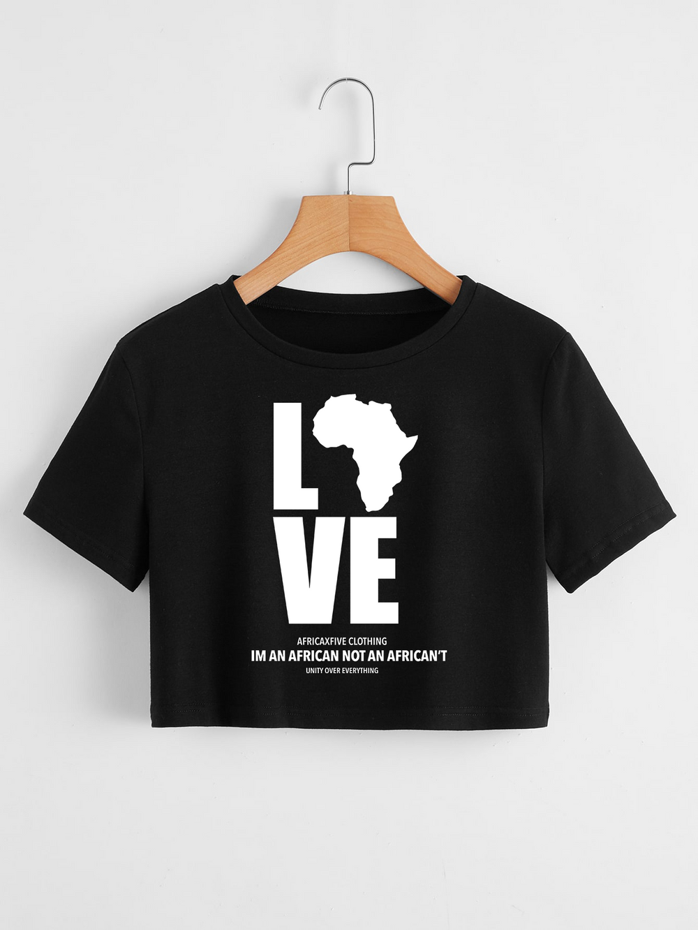 Love Africa Crop Top