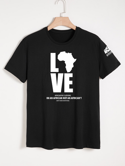 Love Africa BLACK T-Shirt