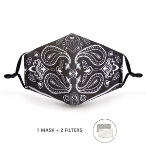 Fashion Mask: Masque bouche nez lavable - picoloprix