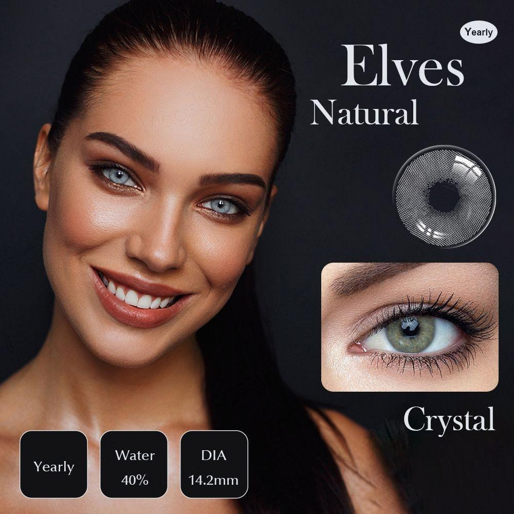 Lentilles Brown Crystal Mirage Natural - picoloprix