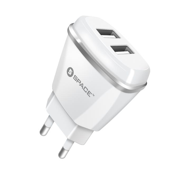 Dual Port USB 2.1A Wall Charger