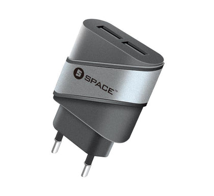 Dual Port USB 2.4A Wall Charger