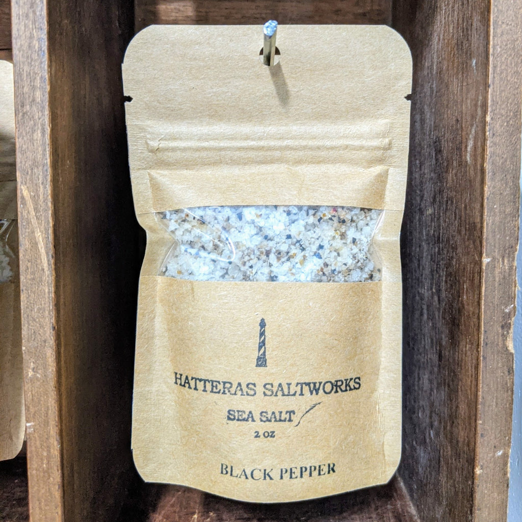 Black Pepper Sea Salt