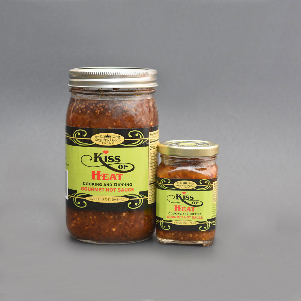 Kiss Of Heat Gourmet Hot Sauce Condiment