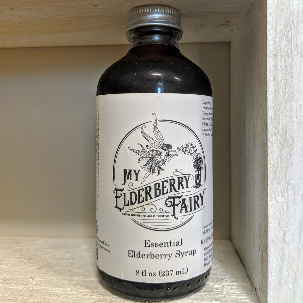 Essential Elderberry Syrup