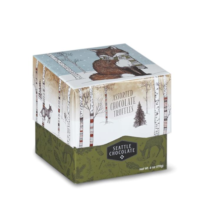 Woodland Fox Assorted Chocolate Truffle Box