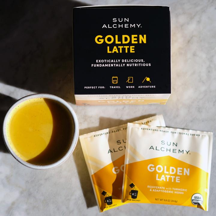 Sun Alchemy Golden Latte