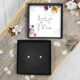 Star Earrings - Mum Thank You